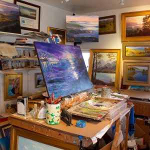 how to relocate your art studio